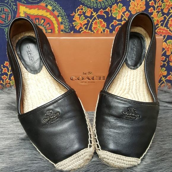 f51d4dafb6f Coach Shoes - Coach Women s Rhodelle Soft Lambskin Espadrille